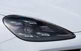 Porsche Cayenne E-Hybrid 2018 review headlights