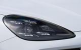 Porsche Cayenne E-Hybrid 2018 review headlights