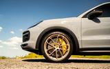 3 Porsche Cayenne Turbo GT 2021 UK FD alloy wheels