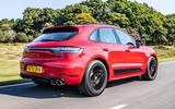 Porsche Macan GTS 2020 UK first drive review - hero rear