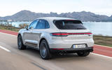 Porsche Macan S 2019 first drive review - hero rear