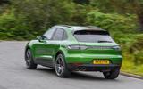 Porsche Macan S 2019 UK first drive review - hero rear