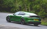 Porsche Panamera GTS 2019 UK first drive review - hero rear