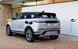 3 range rover evoque phev 2020 static rear