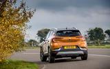 Renault Captur E-Tech PHEV RHD 2020 UK first drive review - hero rear