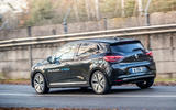 Renault Clio E-Tech 2020 first drive review - hero rear