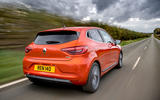 Renault Clio E-Tech hybrid 2020 UK first drive review - hero rear