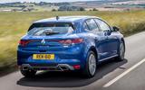 3 Renault Megane E Tech phev 2021 UK FD hero rear
