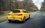 Renault Megane RS 300 Trophy 2019 UK first drive review - hero rear