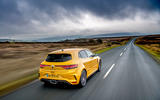 3 Renault Megane RS 300 Trophy 2021 UK first drive review hero rear