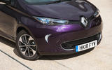 Renault Zoe R110 2018 UK first drive review front end