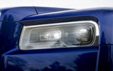 Rolls-Royce Cullinan 2018 first drive headlight detail