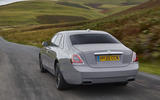 Rolls Royce Ghost 2020 UK first drive review - hero rear