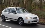 Rover 200 VI - hero side