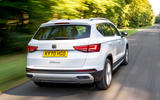 Seat Ateca Xperience 2020 UK first drive review - hero rear