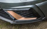 Seat Leon Cupra R 2018 UK review air intakes