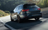 Seat Leon Cupra R ST 2019 first drive review - hero rear