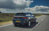 Seat Leon eHybrid FR 2020 UK first drive review - hero rear