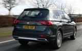 Seat Tarraco 2019 UK first drive review - hero rear