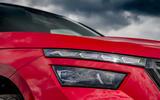 3 Skoda Kamiq Monte Carlo 2021 UK first drive headlights