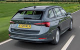 3 Skoda Octavia E Tec hybrid 2021 UK first drive review hero rear