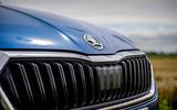 Skoda Octavia hatchback 2020 UK first drive review - nose
