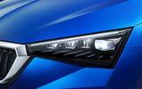 Skoda Scala 2019 first drive review - headlights