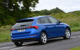 Skoda Scala 1.6 TDI 2019 UK first drive review - hero rear