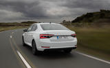 Skoda Superb iV 2020 first drive review - hero rear