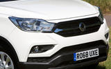Ssangyong Musso EX 2019 UK first drive review - front end