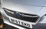 Subaru Impreza 2018 UK review front bumper