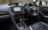 Subaru XV e-Boxer 2020 UK first drive review - cabin