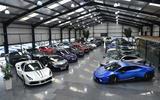 3 supercar showroom