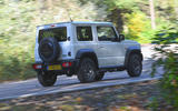 Suzuki Jimny 2018 UK first drive review - hero rear