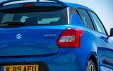 Suzuki Swift Attitude 2019 UK first drive review - rear end