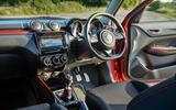 Suzuki Swift Sport hybrid 2020 UK first drive review - interior