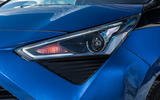 Toyota Aygo 2018 review headlights
