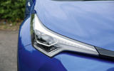 Toyota C-HR 2018 long-term review headlights