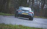 3 Toyota GR Supra 2 litre 2021 UK first drive review hero rear