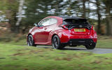 Toyota GR Yaris 2020 UK first drive review - hero rear