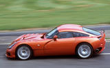 TVR Sagaris 2005 - hero side