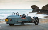 Morgan 3 Wheeler, Caterham Seven 310R, Ariel Nomad: winter drive