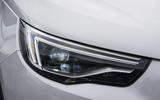 Vauxhall Grandland X Ultimate 2018 UK review headlights