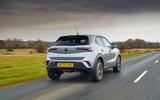 3 Vauxhall Mokka 2021 UK first drive review hero rear