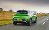 3 Vauxhall Mokka e 2021 UK first drive review hero rear