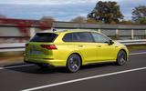 Volkswagen Golf Estate 2020 first drive review - hero rear