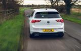 3 Volkswagen Golf GTD 2021 UK first drive review hero rear