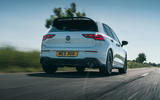 3 Volkswagen Golf GTI Clubsport 45 2021 UK FD hero rear
