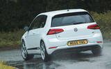 Volkswagen Golf R m52 2019 UK first drive review - hero rear