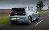 Volkswagen ID 3 2020 UK first drive review - hero rear